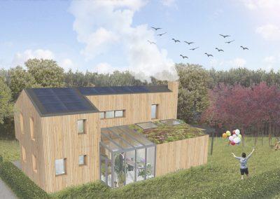 Biobased villa te Rotterdam