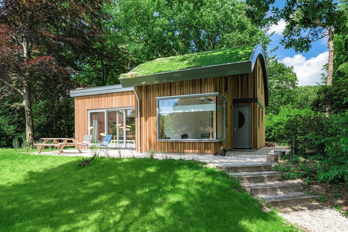 Modernne, biobased vakantiewoning in Maarn