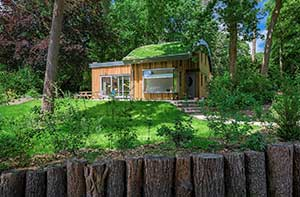 Moderne vakantiewoning in Maarn op een heuvel