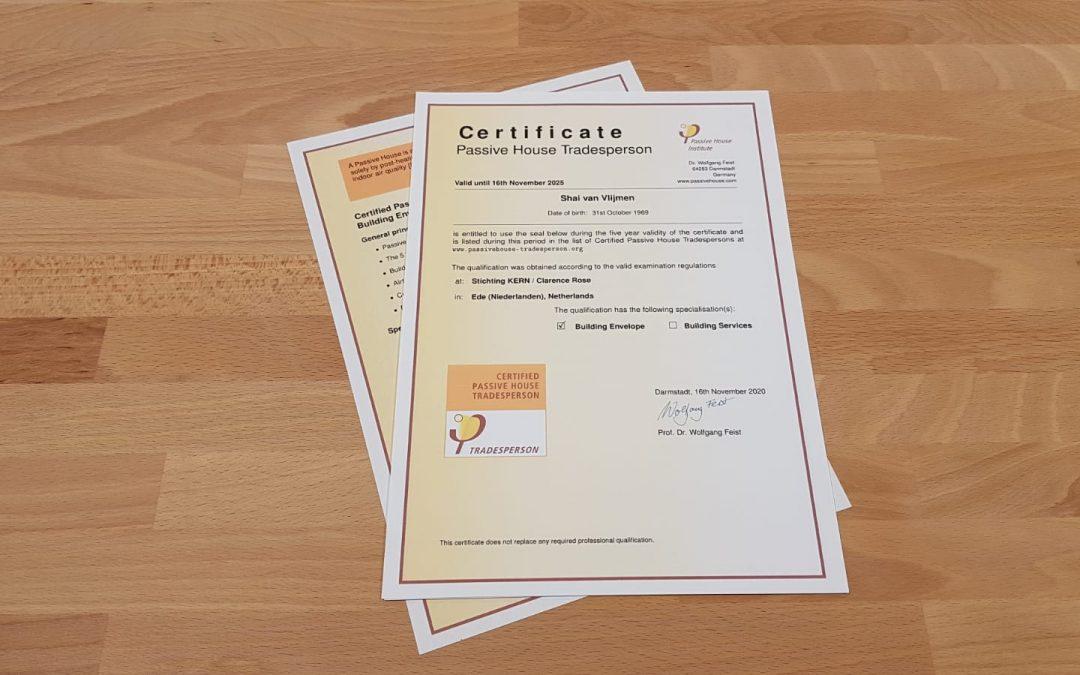Certificering passiefhuis: energiezuinige woningen