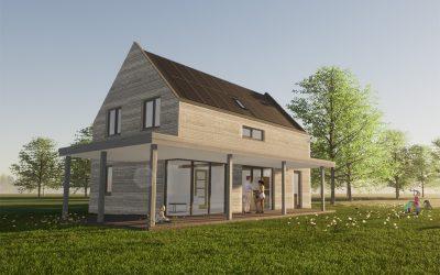 Omgevingsvergunning woonhuis te Oosterwold is verleend!