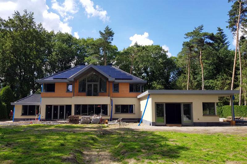 Maquette villa Driebergen – achtergevel
