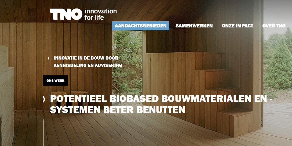 TNO: 'Bouwen met hout gunstiger voor klimaat dan uit huidige MPG-berekening blijkt'