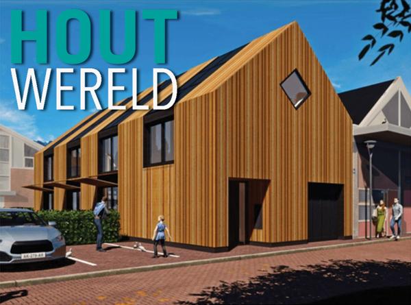 Kantoor NarrativA architecten uitgelicht in Kavel & Huis houtbouw special
