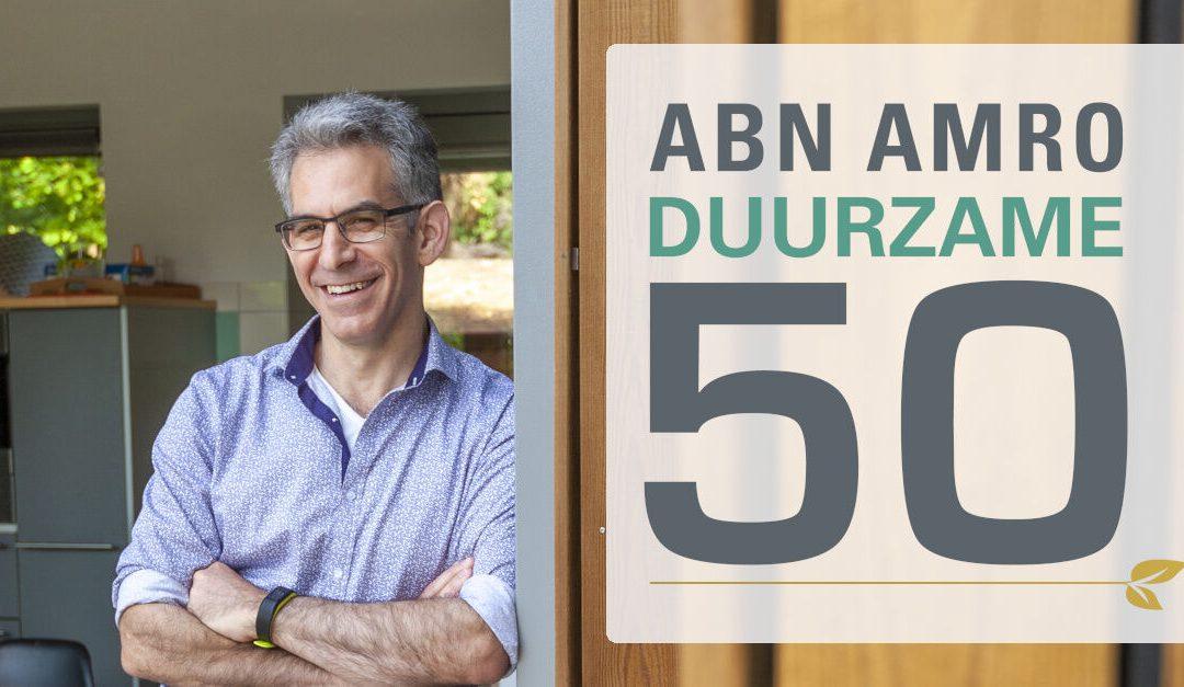 Genomineerd voor de ABN AMRO Duurzame 50: Stem nu